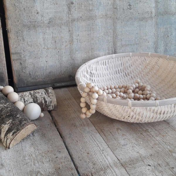 Schaal bamboe accessoires