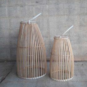 Windlicht bamboe