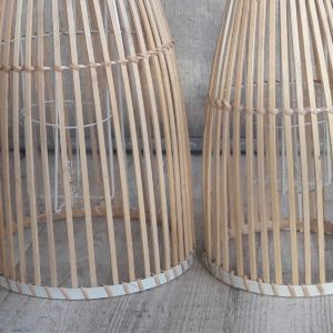 Windlicht bamboe ingezoomd