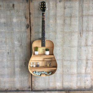 Wanddecoratie gitaar